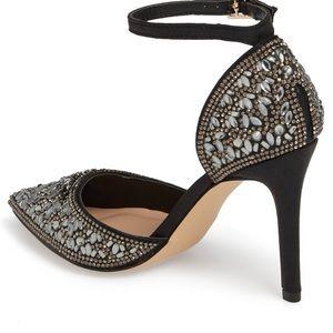 b13f12619d3 LAUREN LORRAINE Shoes -    SOLD    Rose Crystal Embellished d